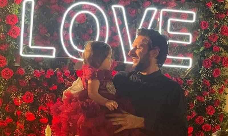 شاہد آفریدی کی بیٹی کا سالگرہ پر پیار بھر پیغام