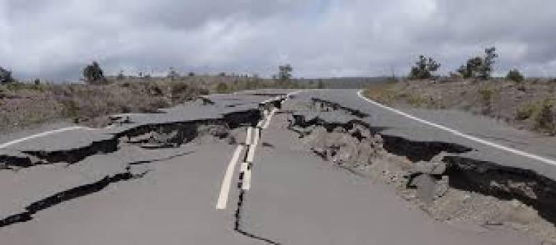 خیبرپختونخواہ میں زلزلے کے جھٹکے
