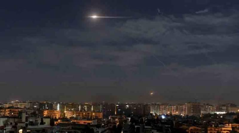 شام میں اسرائیلی فوج کے ایران کی تنصیبات پر حملے، 6 جنگجو ہلاک