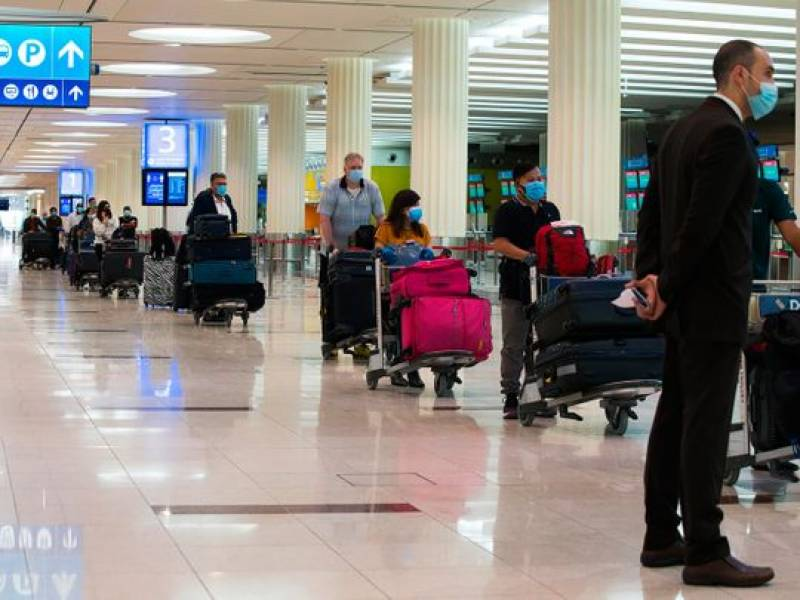 دبئی ایئرپورٹ پر مسافروں کی آمد میں 70 فیصد کمی