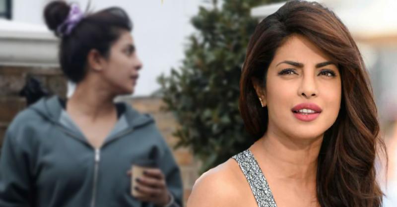 بھارتی اداکارہ پریانکا چوپڑا کی میک اپ کے بغیر تصاویر سامنے آگئیں