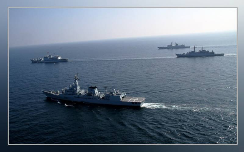 Pakistan Navy, joint exercises, Russian, Sri Lankan forces, Aman 21 Exercise