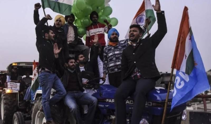 کسانوں نے بھارتی پارلیمنٹ کے گھیراؤ کا اعلان کردیا