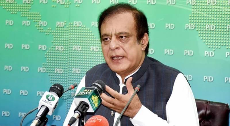 سندھ حکومت حلیم عادل شیخ سے انتقام کا بھرپور رویہ اختیار کر رہی ہے: شبلی فراز