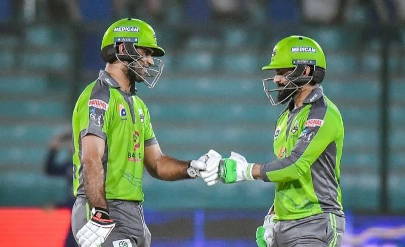 لاہور قلندرز نے کوئٹہ گلیڈی ایٹرزکو شکست دے دی