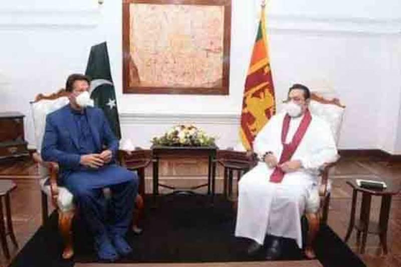 وزیراعظم کی سری لنکن ہم منصب سے ملاقات، دو طرفہ امور پر تبادلہ خیال
