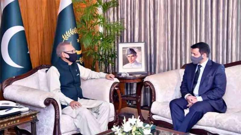 ازبکستان کے ساتھ تمام شعبوں میں تعلقات کو فروغ دینے کی ضرورت ہے، صدر مملکت