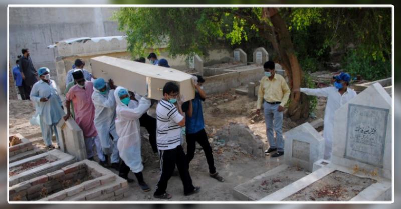 پاکستان میں عالمی وبا  کے باعث مزید 50 مریض انتقال کر گئے
