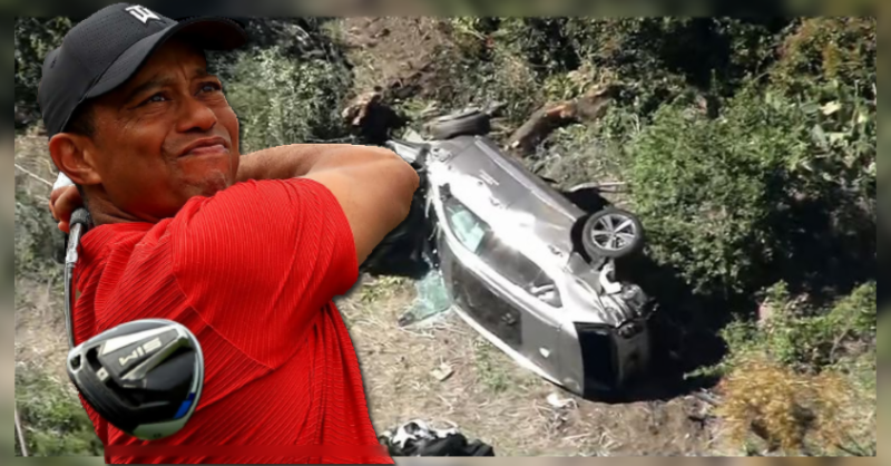 معروف گالفر ٹائیگر ووڈز ٹریفک حادثے کا شکار، شدید زخمی حالت میں ہسپتال منتقل