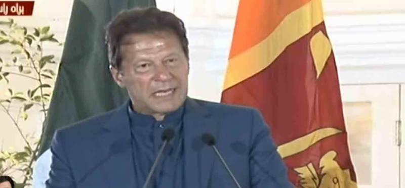 خطے کا سنگین مسئلہ کشمیر ہے جو مذاکرات سے حل ہوگا، عمرا ن خان