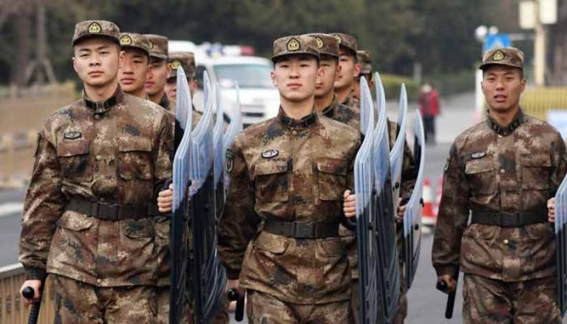 چینی فوجیوں کی تضحیک پر 6 افراد گرفتار