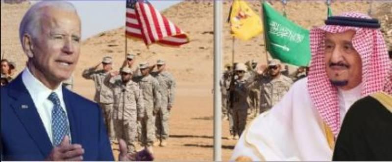 سعودی فرماںروا کا امریکی صدر سے ٹیلی فونک رابطہ