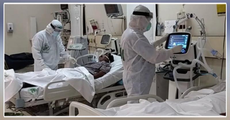 پاکستان میں عالمی وبا سے مزید 33 افراد جاں بحق