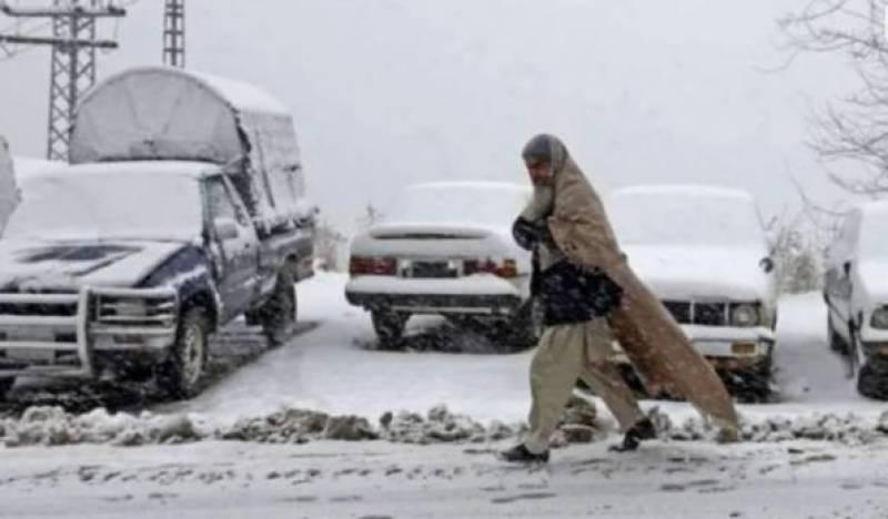 گلگت بلتستان میں مسلسل بارش اور برفباری ،زندگی مفلوج