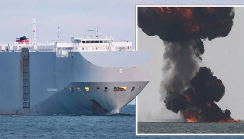 اسرائیلی بحری جہازکے قریب ایران کا دھماکہ ،وزیر اعظم اسرائیل کا بڑا دعویٰ