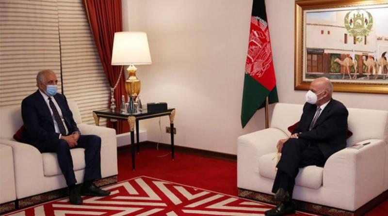 افغان امن معاہدے پر نظرثانی،زلمے خلیل زاد کابل پہنچ گئے