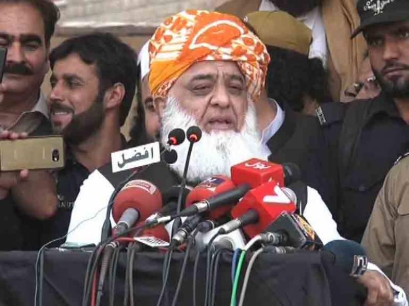 عمران خان شکست تسلیم کرکے اسمبلیاں تحلیل کر یں اور انتخابات کرائیں:مولانا فضل الرحمن