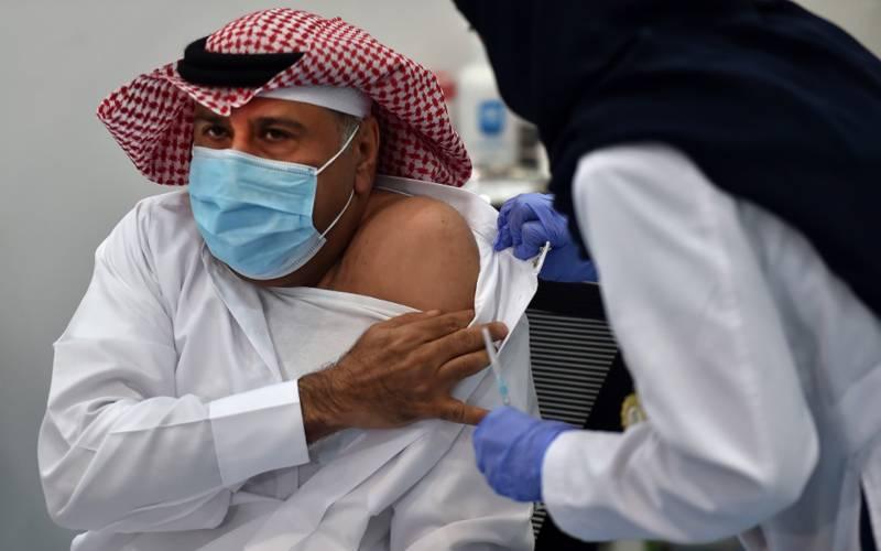 سعودی عرب میں 10 لاکھ شہریوں کو ویکسین لگادی گئی