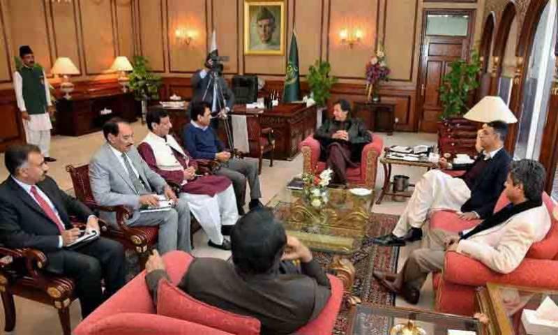 وزیراعظم نے ایم کیو ایم قیادت کو ملاقات کی دعوت دے دی