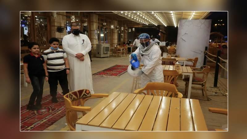 سعودی عرب میں کورونا ایس او پیز کے تحت ریستورانوں او قہوہ خانو ں میں ٹیبل سروس اتوار سے بحال