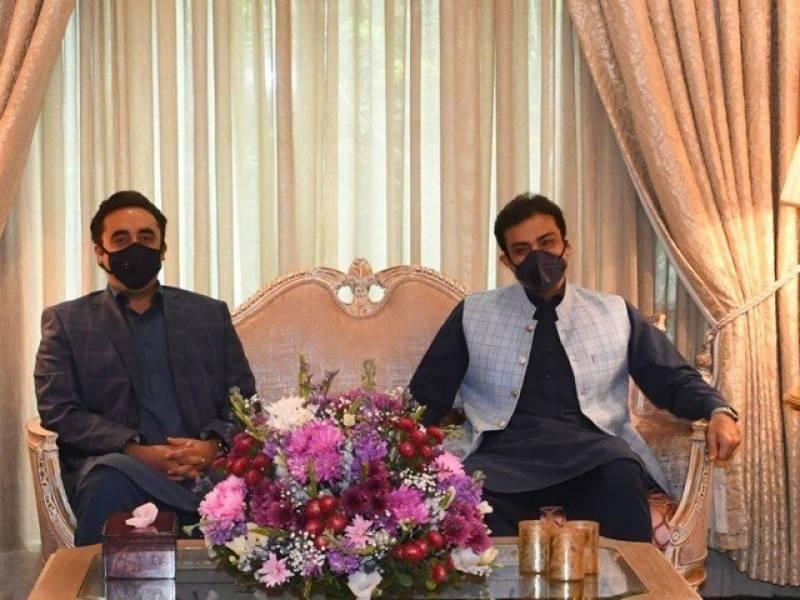 پنجاب میں ان ہاؤس تبدیلی ،بلاول بھٹو زرداری کی حمزہ شہباز سے ملاقات