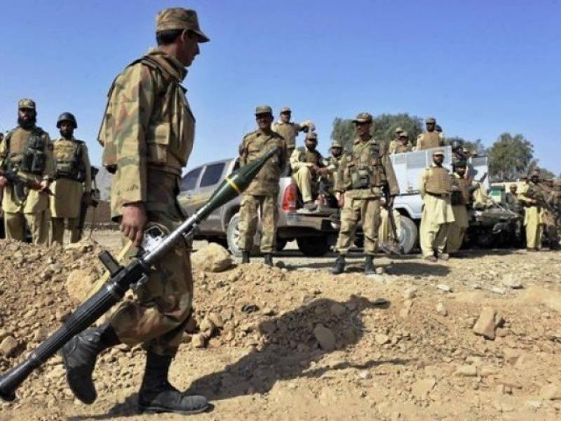 سیکورٹی فورسز کا وزیر ستان میں آپریشن، 4 دہشت گرد ہلاک