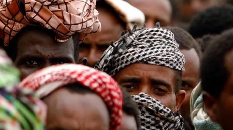 یمن ,مہاجرین کےحراستی مرکز میں آگ لگنے سے8 افراد ہلاک , متعدد زخمی