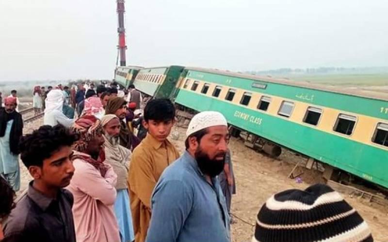 کراچی ایکسپریس ٹرین حادثے کی ابتدائی رپورٹ تیار
