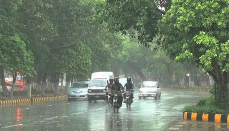 Rain in Lahore,Pakistan Weather