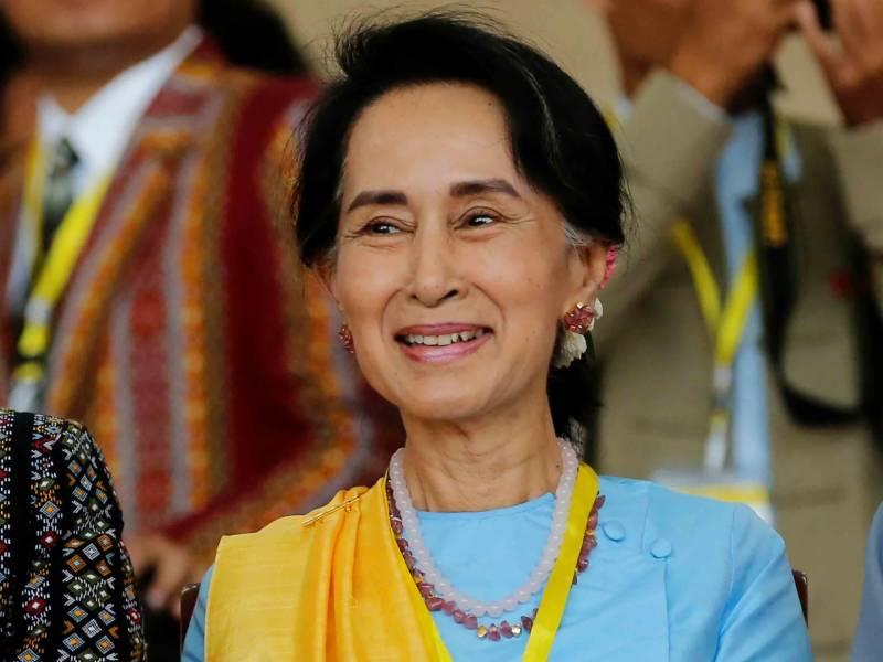آنگ سان سوچی پر غیر قانونی طور پر رقم اور سونا وصول کرنے کا الزام