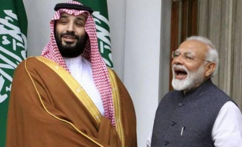 بھارتی وزیراعظم نریندر مودی نے سعودی ولی عہد کو دورہ بھارت کی دعوت دے دی