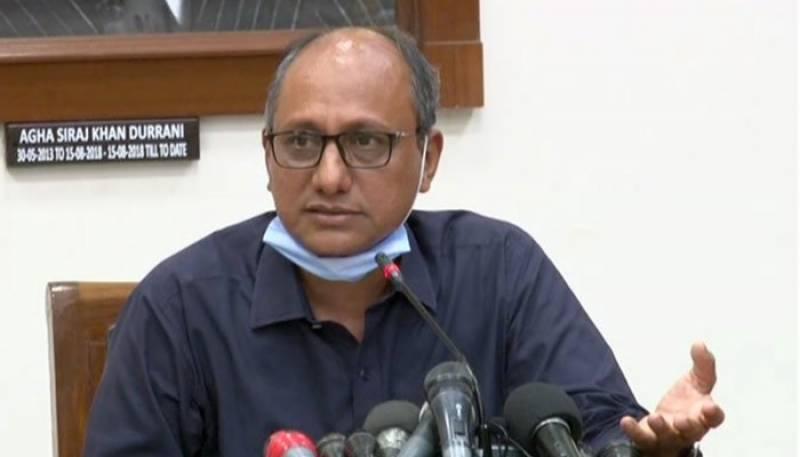 شبلی فراز وزیر جھوٹی اطلاعات بھی نہیں رہے: سعید غنی