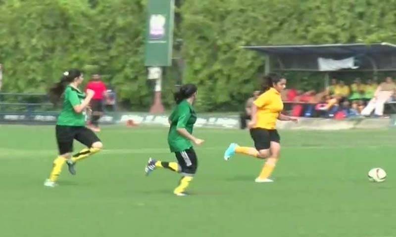 قومی ویمن فٹبال چیمپئن شپ روک دی گئی