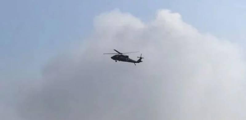 راکٹ حملے سے افغان ہیلی کاپٹر تباہ ، 9 افراد ہلاک