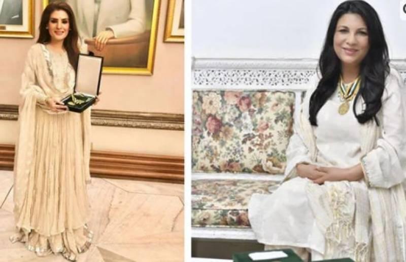 اداکارہ ریشم کا سینئر اداکارہ سکینہ سموں کی تنقید پر جواب