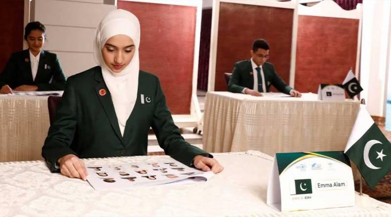 ورلڈ میموری چیمپئن: پاکستانی طالبہ ایما عالم نے بھارت اور سویڈن کو ہرادیا
