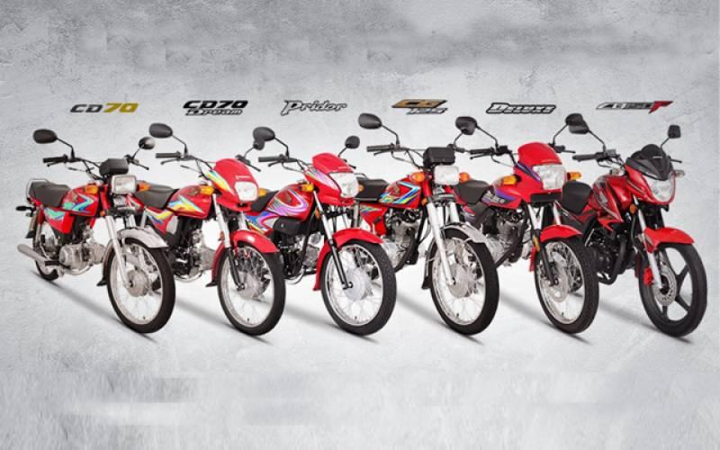 ہنڈا موٹر سائیکلوں کی قیمتوں میں رواں سال تیسری مرتبہ اضافہ، کون سی موٹر سائیکل کتنے میں ملے گی؟