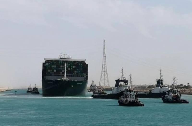 مصر: نہر سوئز میں پھنسے مال بردار جہاز کو کس طریقے سے نکالا گیا