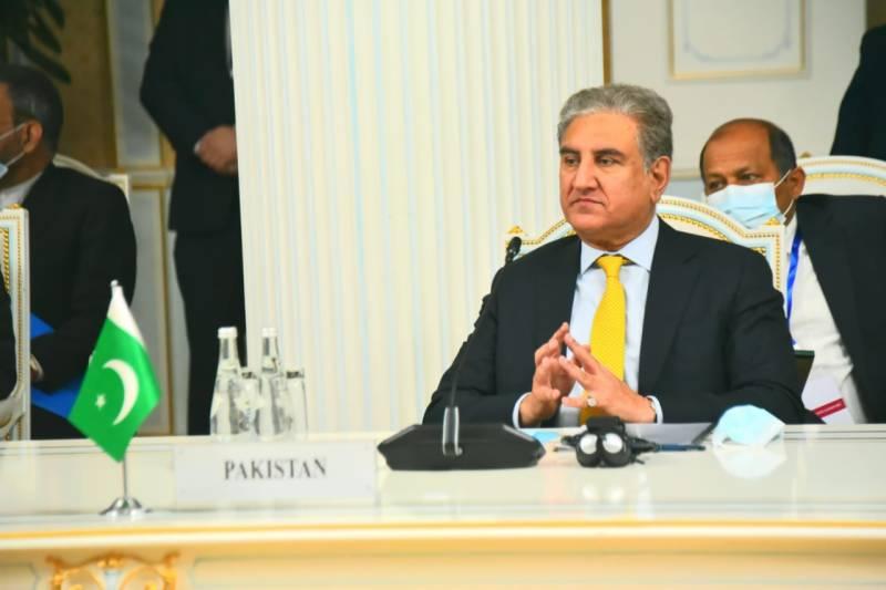 افغان تنازع کا کوئی فوجی حل نہیں: وزیر خارجہ شاہ محمود قریشی