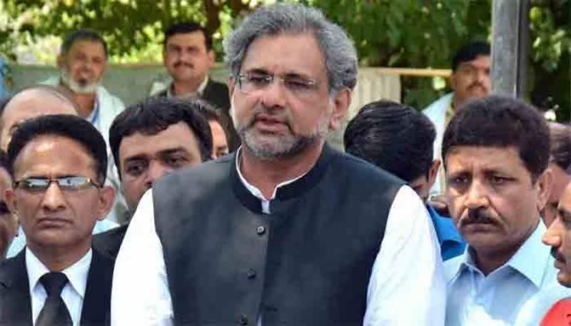 کابینہ نے سمری مسترد کر کے وزیراعظم پر اظہار عدم اعتماد کر دیا، شاہد خاقان