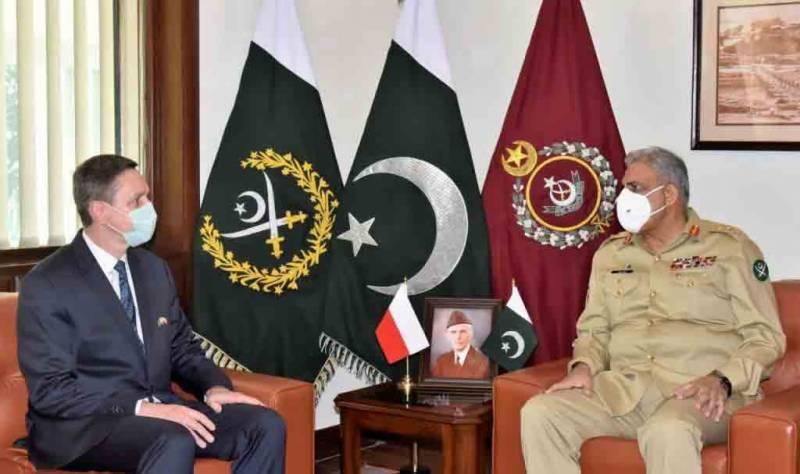 پاکستان پولینڈ کیساتھ تاریخی بنیادوں پر استوار تعلقات کو انتہائی اہمیت دیتا ہے، آرمی چیف