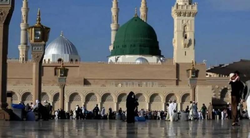 رمضان المبارک میں مسجد نبوی میں بچوں کے داخلے پر پابندی عائد