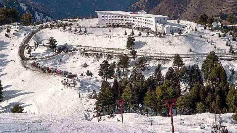 خیبر پختونخوا حکومت نے سیاحتی مقام مالم جبہ کو بند کر دیا
