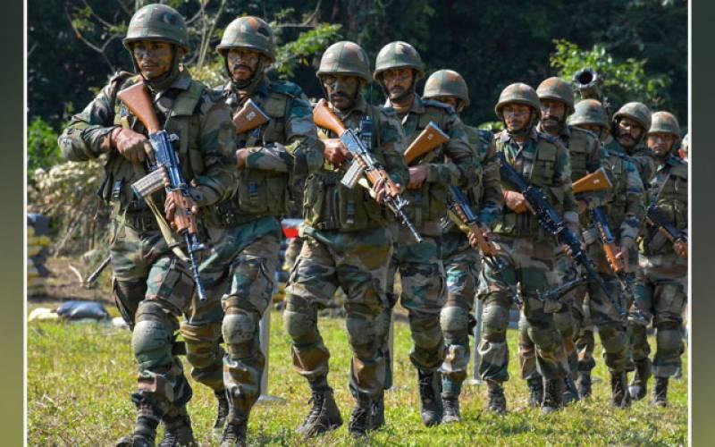 نکسل باغیوں کیساتھ تصادم، بھارتی فوج کے 22 اہلکار ہلاک