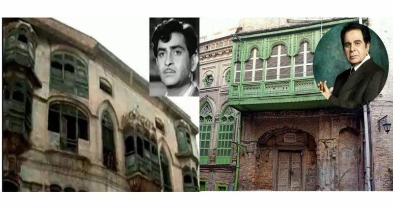 Dilip Kumar ,Raj Kapoor, houses, Peshawar , Bollywood , India