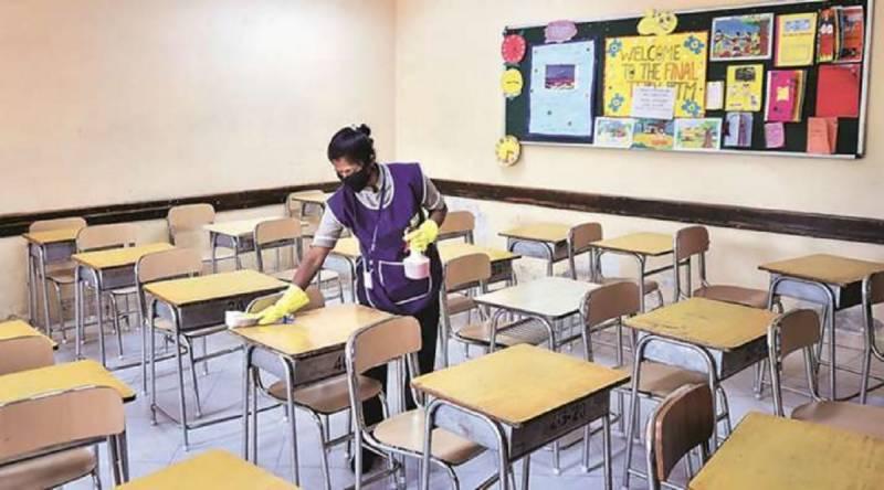 سندھ بھر میں سکول 2 ہفتے کے لیے بند کردیے گئے