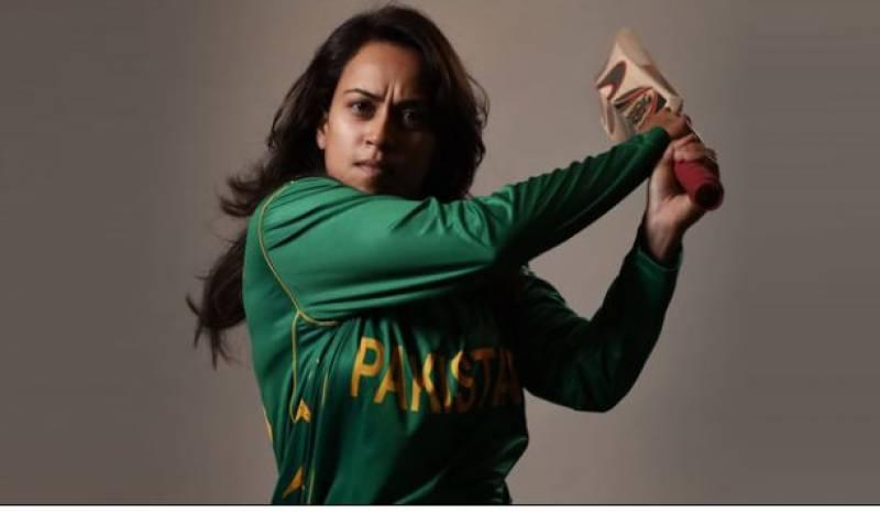 پاکستانی کرکٹر نین عابدی دوسرے ملک سے کرکٹ کھیلیں گی