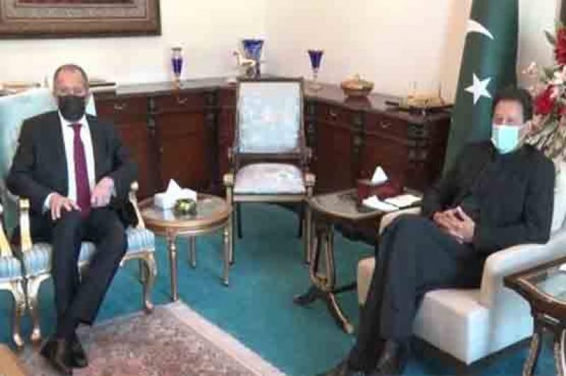 پاکستان اور روس کا مسئلہ کشمیرکے پرامن حل پر اتفاق