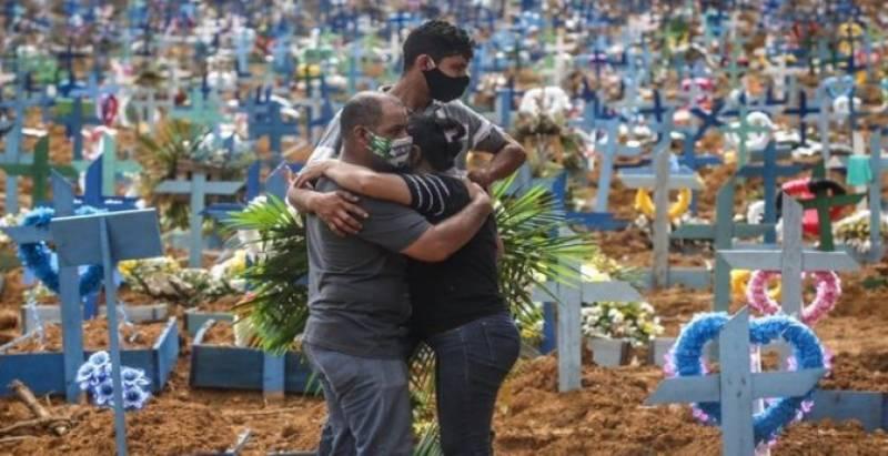 کورونا وائرس کی تیسری لہر، برازیل میں 24 گھنٹوں میں 4 ہزار سے زائد افراد ہلاک ہوگئے