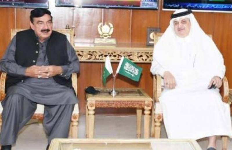 پاک سعودی تعلقات اخوت اور محبت کی بنیاد پر ہیں ، شیخ رشید